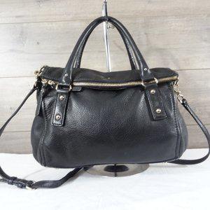 Kate Spade Leather Fold Over Flap Crossbody Bag